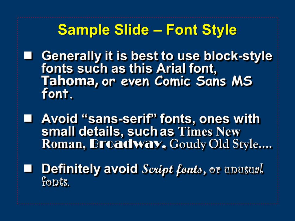 Sample slide font size this slide can be used as a template it 2 sample pronofoot35fo Image collections