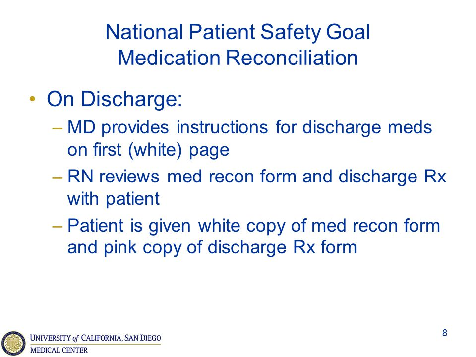 9 Medication Orders Requirements –Write legibly (for non-CPOE) –RNs and/or pharmacy must clarify the order, embrace requests for clarification PRN orders require a reason and range clarification Avoid therapeutic duplication of orders Distinguish between types of medication and when to use
