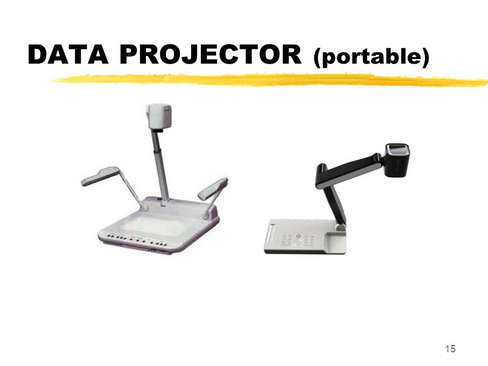 DATA PROJECTOR (portable) 15