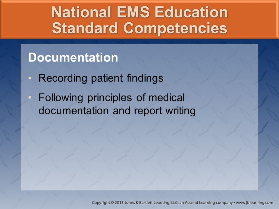 EMS Research Many states now require EMS agencies to submit data to their state EMS office.