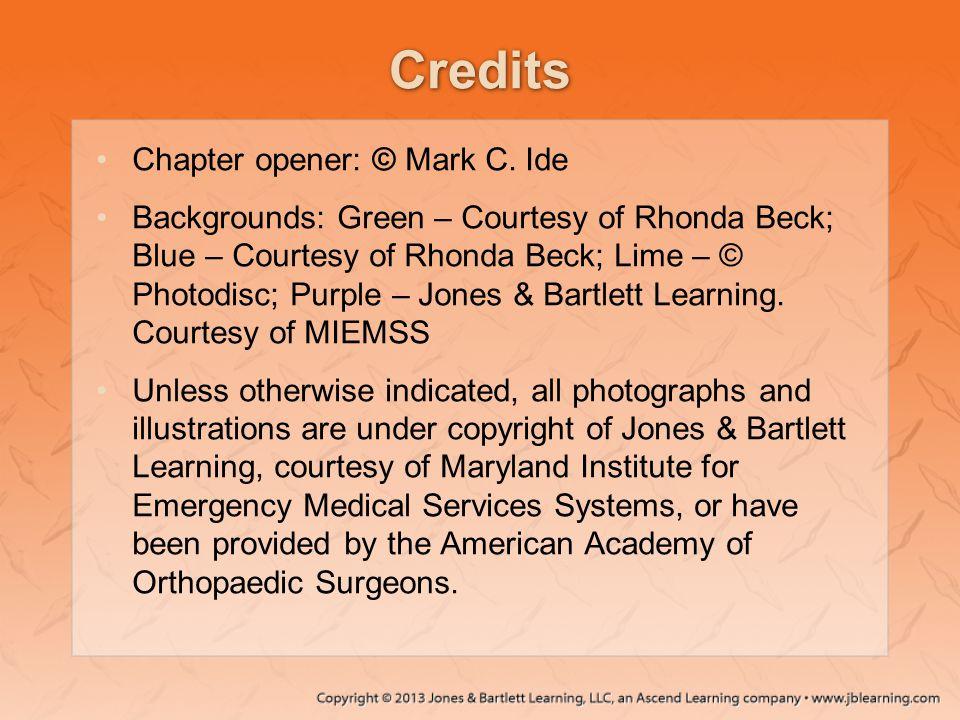 Credits Chapter opener: © Mark C. Ide Backgrounds: Green – Courtesy of Rhonda Beck; Blue – Courtesy of Rhonda Beck; Lime – © Photodisc; Purple – Jones