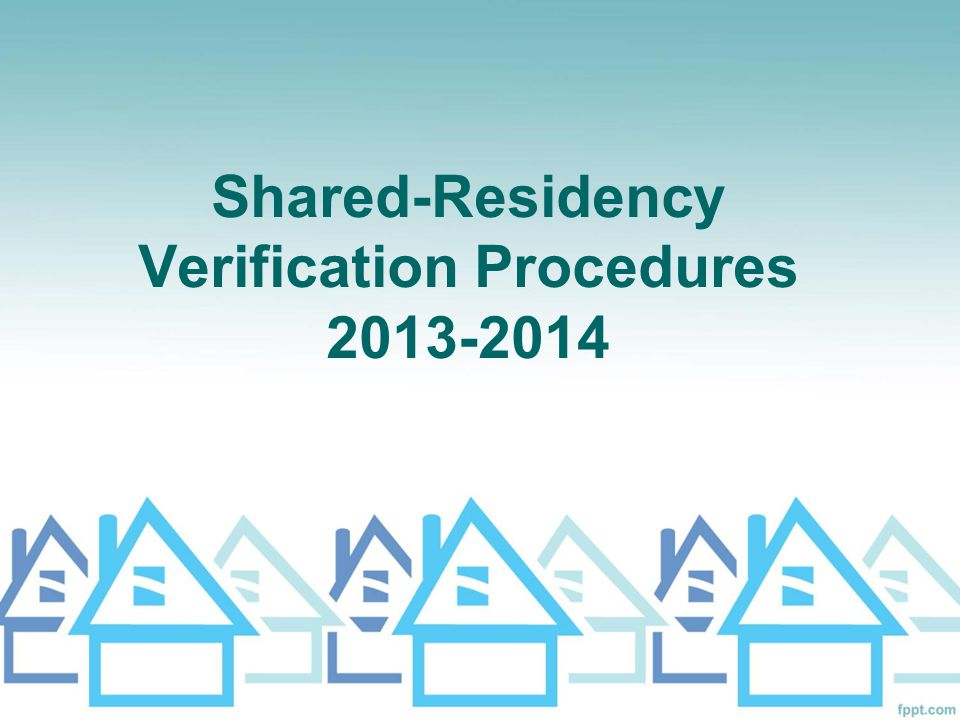 Secondary Proof of Residency What if utilities are included in the lease agreement.