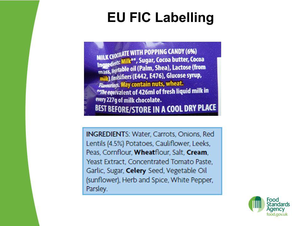 EU FIC Labelling