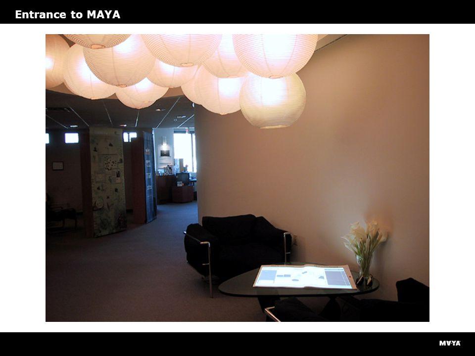 Entrance to MAYA
