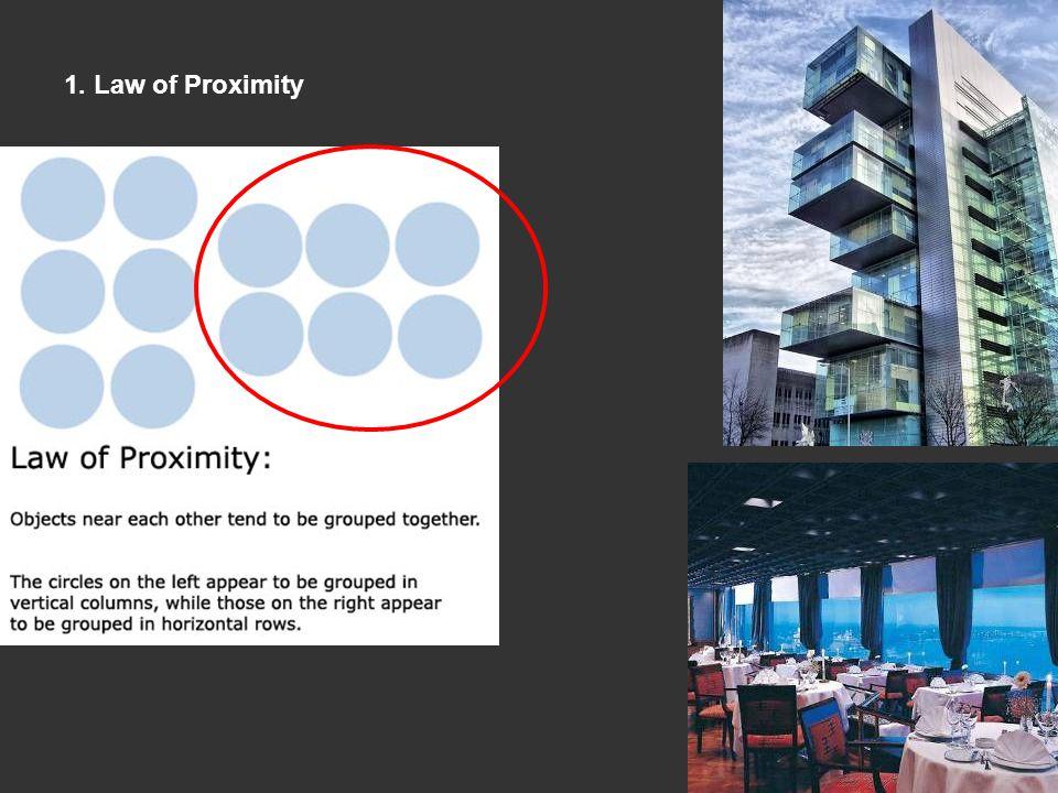 1. Law of Proximity