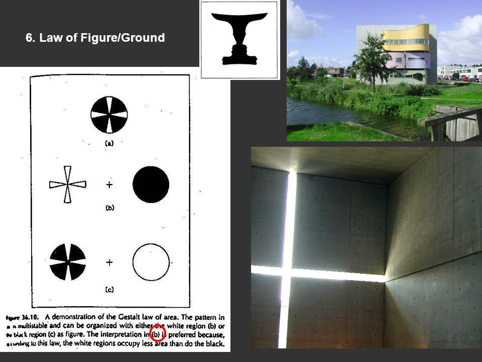 6. Law of Figure/Ground