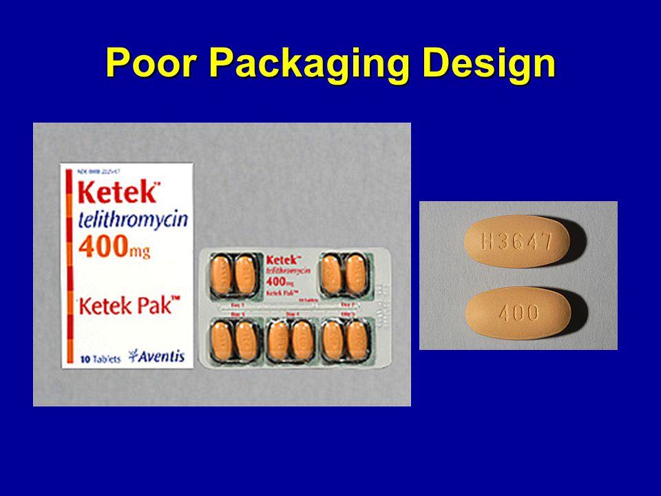 Poor Packaging Design