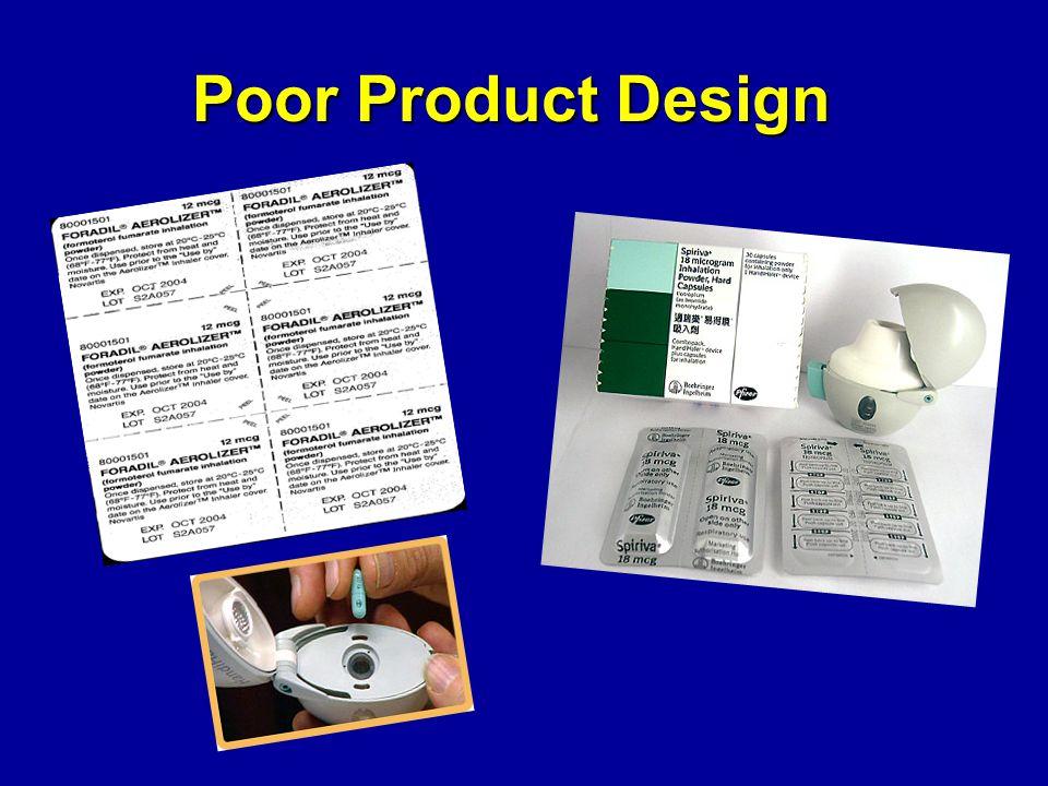 Poor Product Design