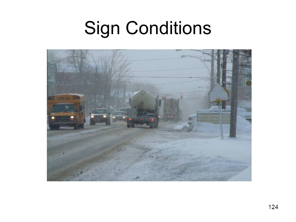 124 Sign Conditions