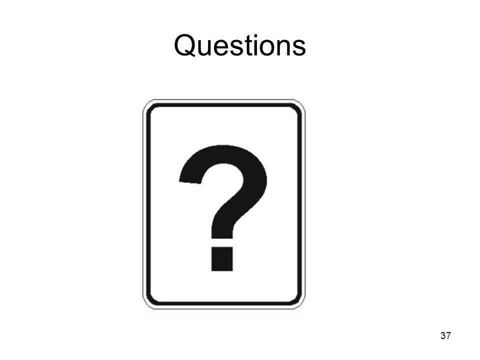 37 Questions