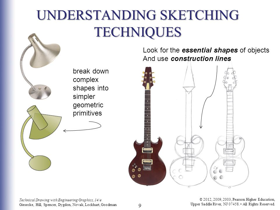 10 Technical Drawing with Engineering Graphics, 14/e Giesecke, Hill, Spencer, Dygdon, Novak, Lockhart, Goodman © 2012, 2009, 2003, Pearson Higher Education, Upper Saddle River, NJ 07458.