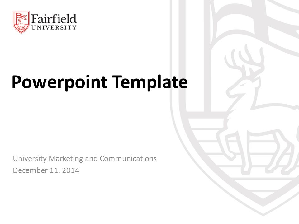 Powerpoint Template University Marketing and Communications December 11, 2014