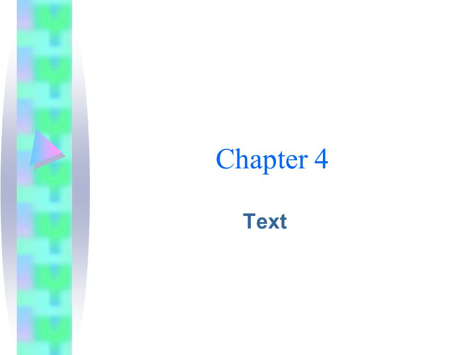 Chapter 4 Text