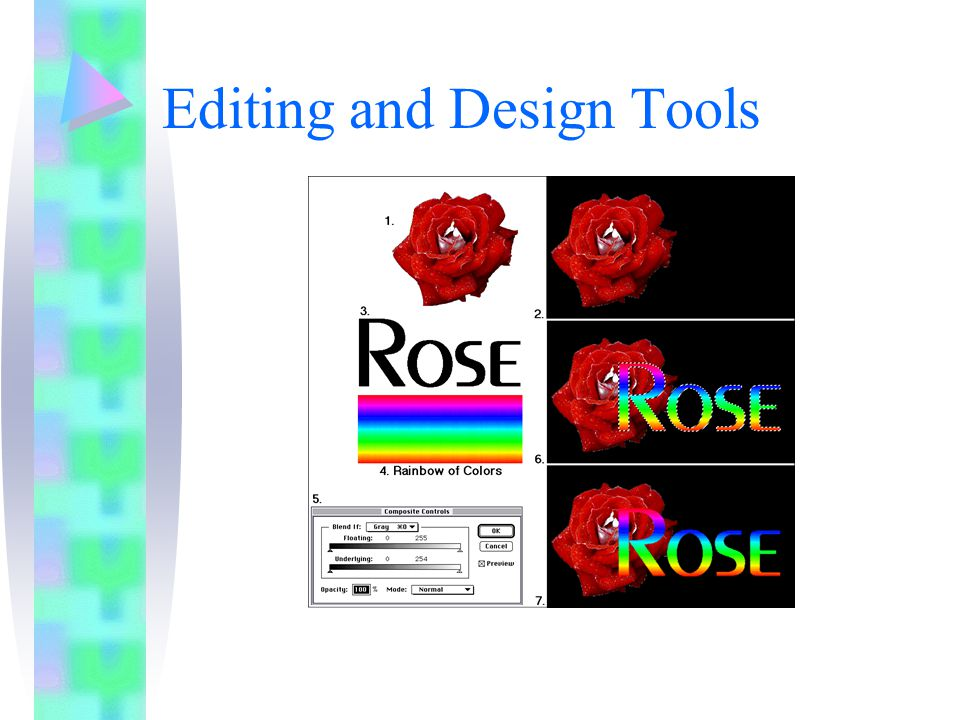 Editing and Design Tools
