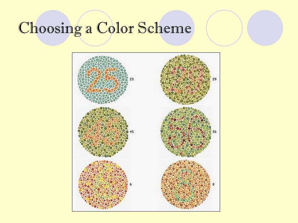 Start with the basics Color Wheel PowerPoint Color Chart