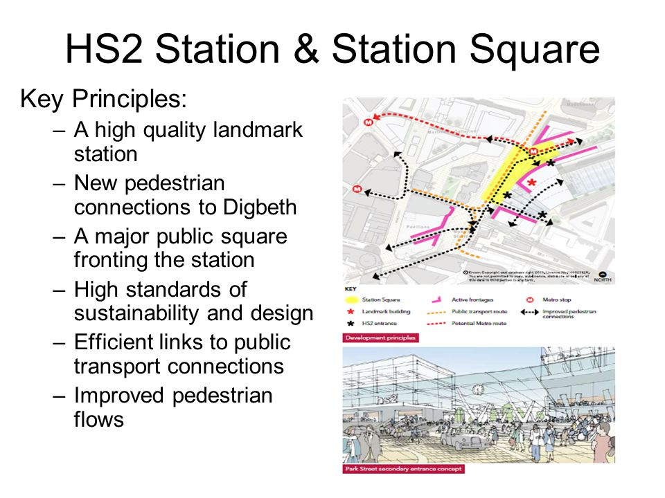 Current images for the HS2 terminal do not consider the adjoining public realm
