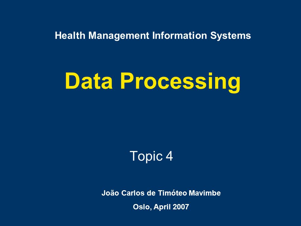 Collection Input Raw data Presenting Interpreting USE ANALYSIS Processing Data Collation & Accuracy
