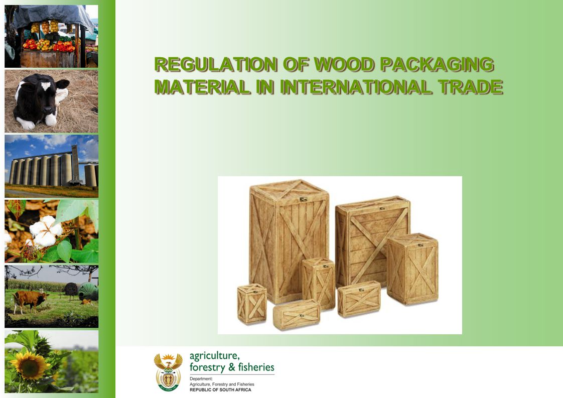 REGULATION OF WOOD PACKAGING MATERIAL IN INTERNATIONAL TRADE