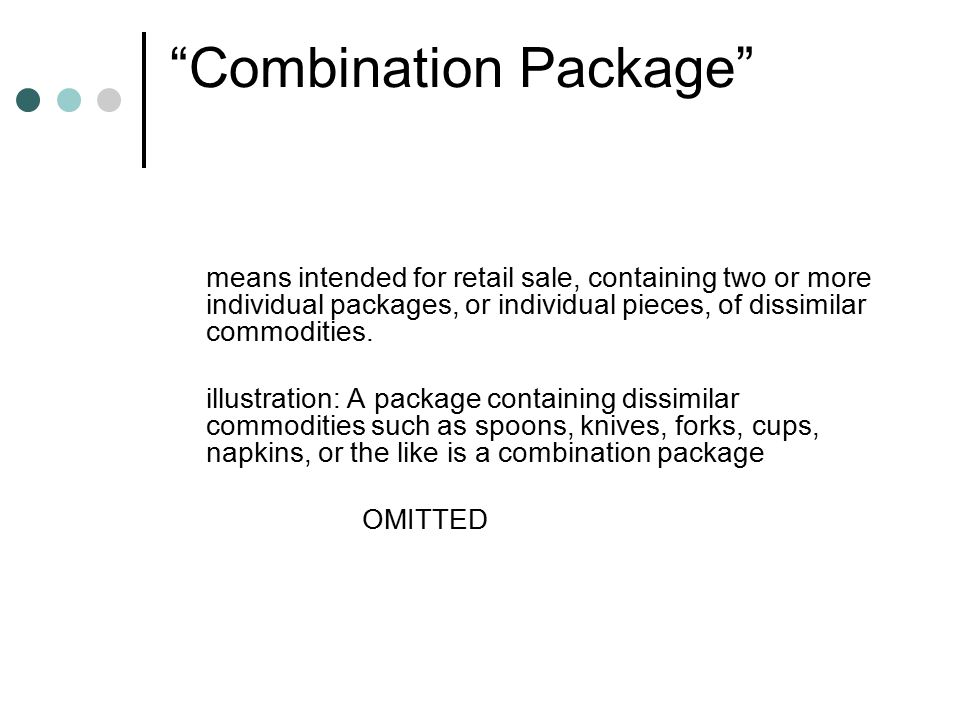 CLARIFICARION ISSUED Recently notified vide GSR425 (E) dated 17.07.2006 and the response thereto 1) Rule 2(l) : In the definition of pre-packed commodity ,industry have raised apprehension that the word opened may be misused.