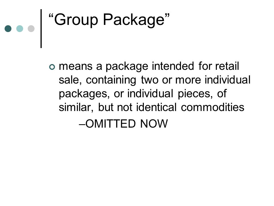 Requirement at filling premises -[R 24-26] Statistical average of the net quantity in sample packages shall be >= the quantity declared on the package.