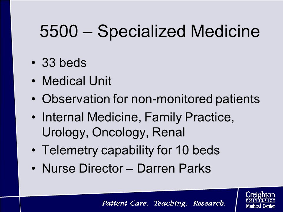 Perfect ... For Non Monitored Patients Internal Medicine, Family Practice, Urology,  Oncology, Renal Telemetry Capability For 10 Beds Nurse Director U2013 Darren  Parks Design Ideas
