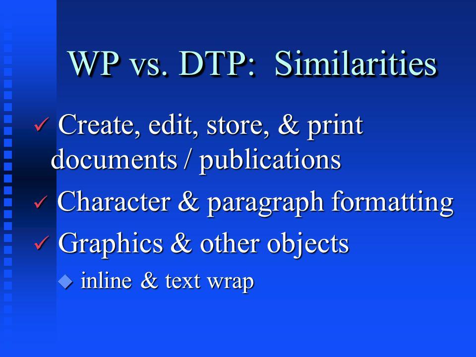 WP vs.