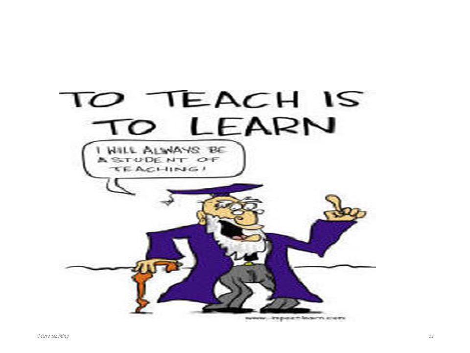Why teaching profession is good? Micro teaching 11