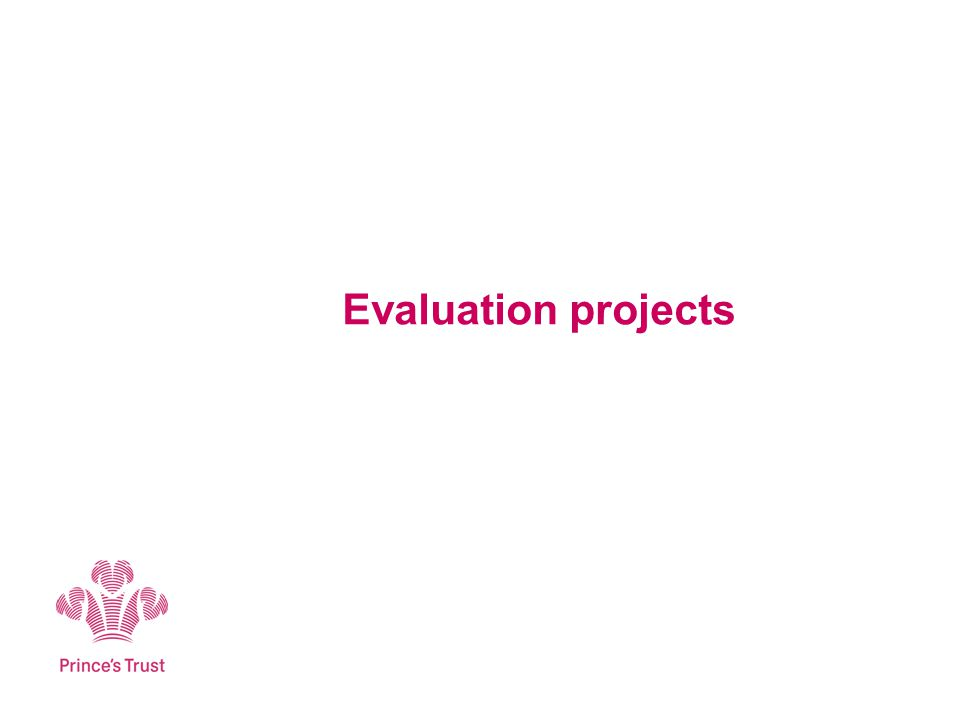 Evaluation projects