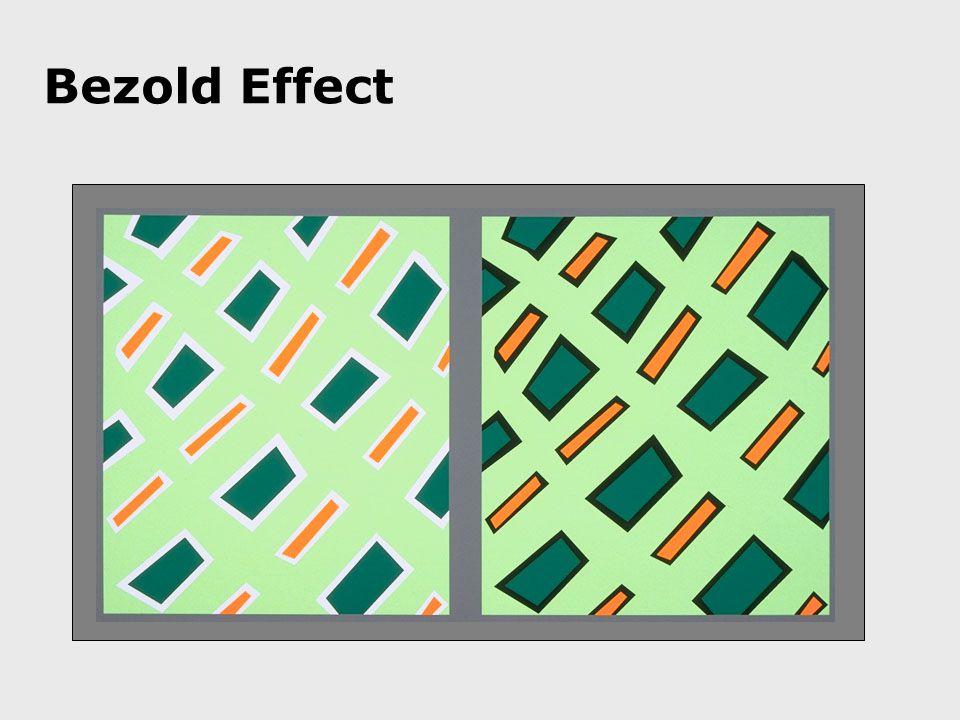 Bezold Effect