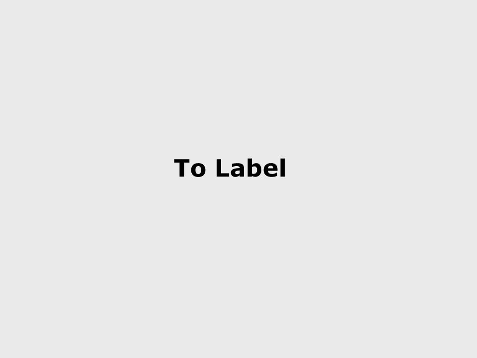 To Label