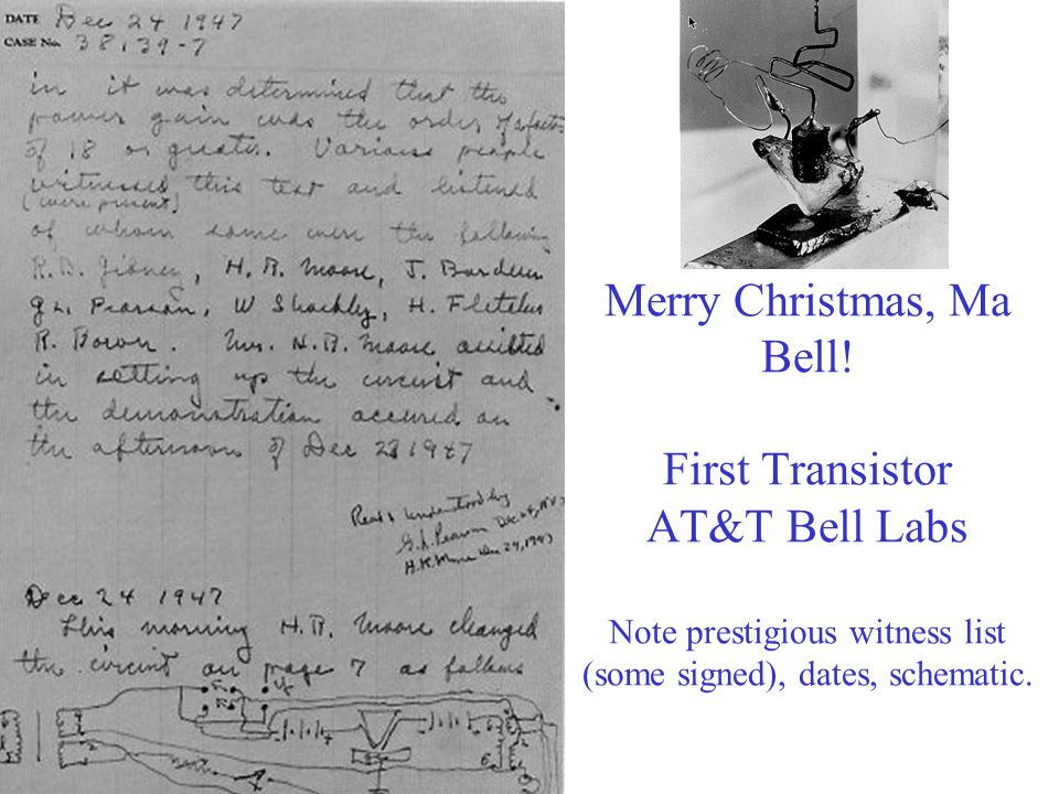 Merry Christmas, Ma Bell.