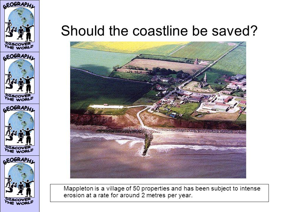 Should the coastline be saved.