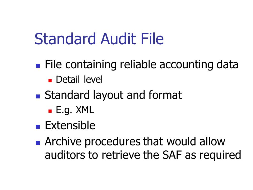 Audit Trails Software developers are encouraged to ensure that application software creates adequate audit trails to assist auditors gain audit assurance