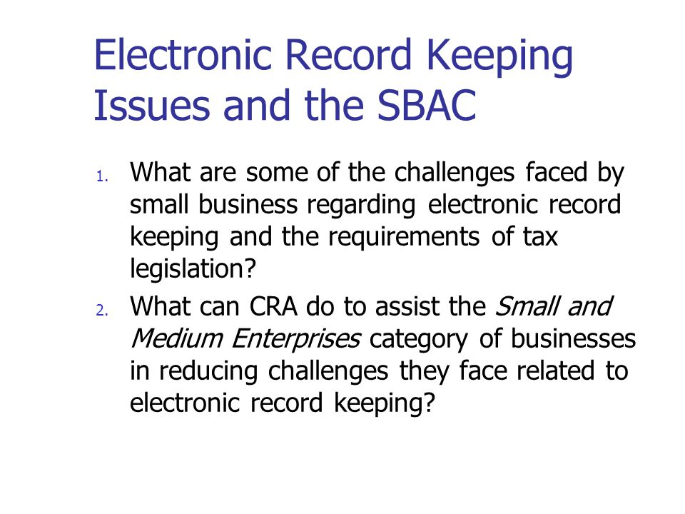 Access to electronic records The software should allow Agency representatives access to electronic records and to the business system documentation.