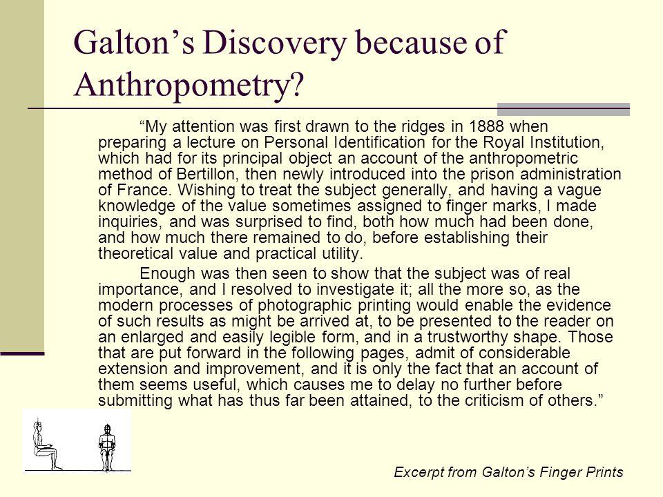 Future Endeavors of Anthropometry?