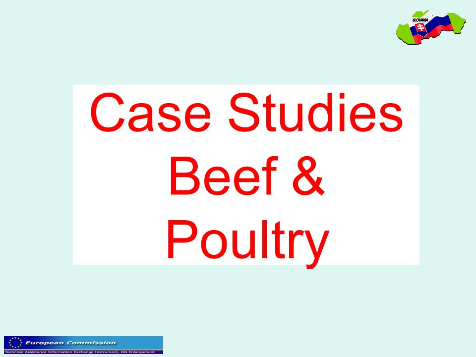 Case Studies Beef & Poultry