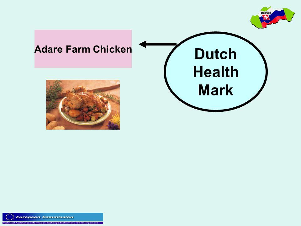 Adare Farm Chicken Dutch Health Mark