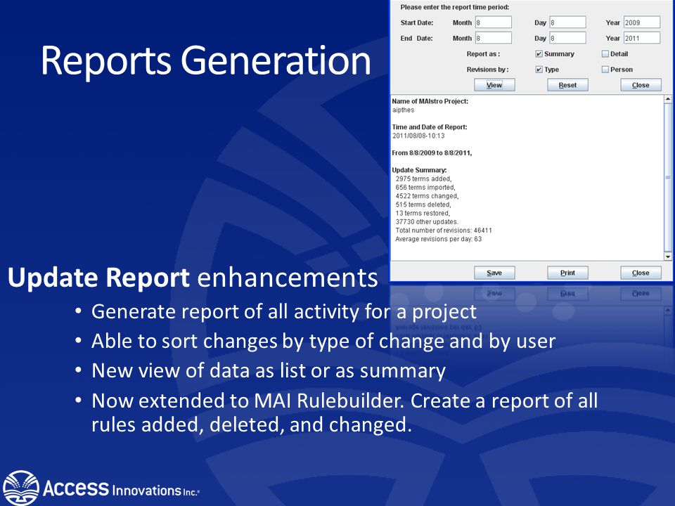 SharePoint Connectors and Export Created a export format for SharePoint. The thesaurus can be imported into SharePoint.