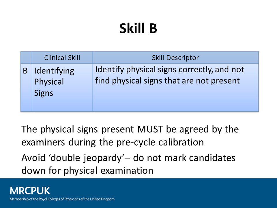 Skill C
