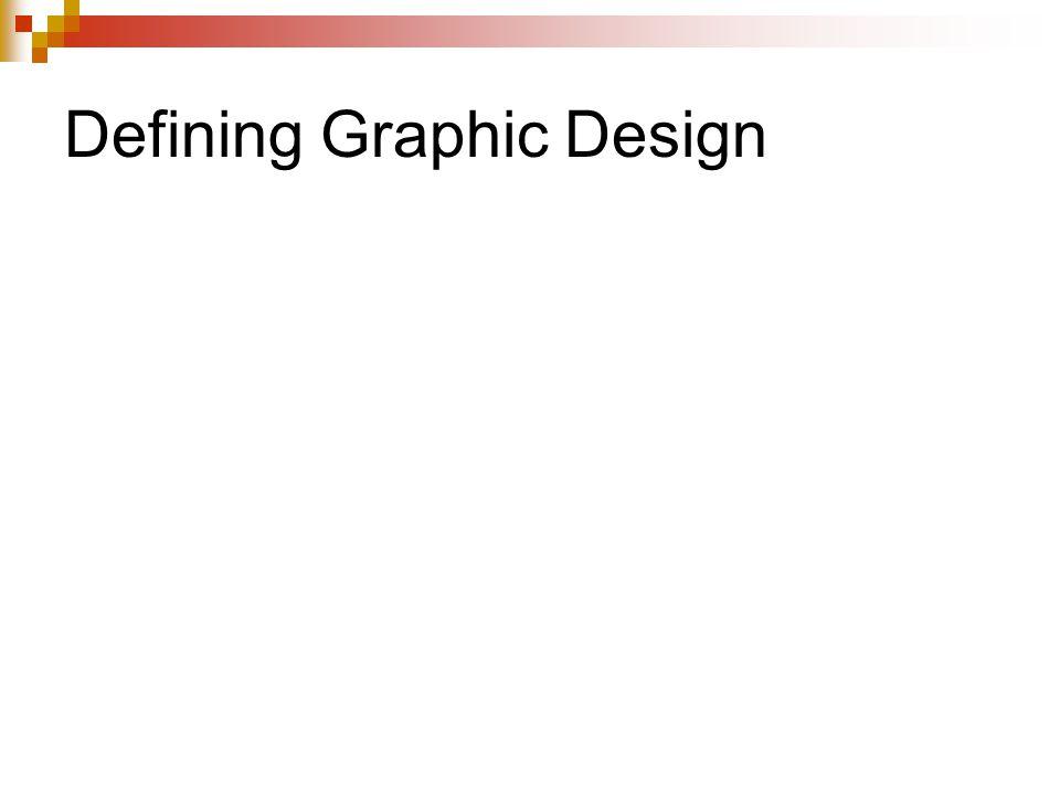 Defining Graphic Design