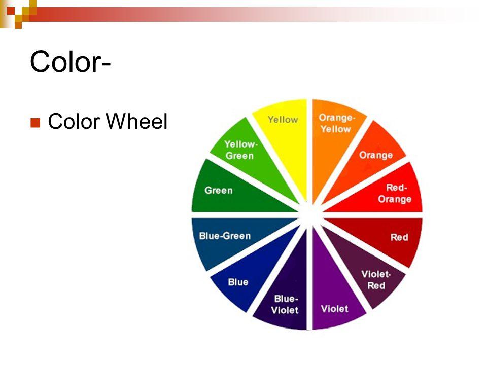 Color- Color Wheel