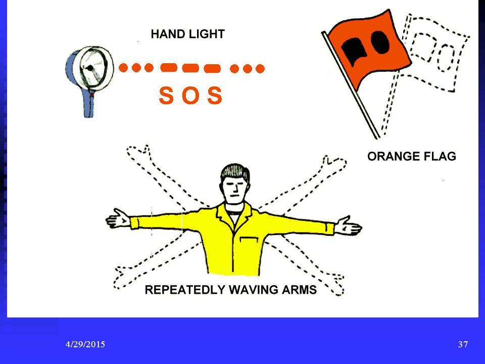 4/29/201536 Non Pyrotechnic Visual Distress Signals Day Day Night Night