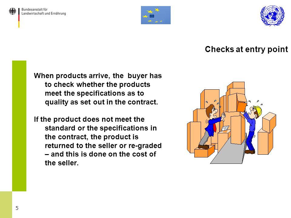 26 EU General Marketing Standard 1.Minimum quality requirements 2.