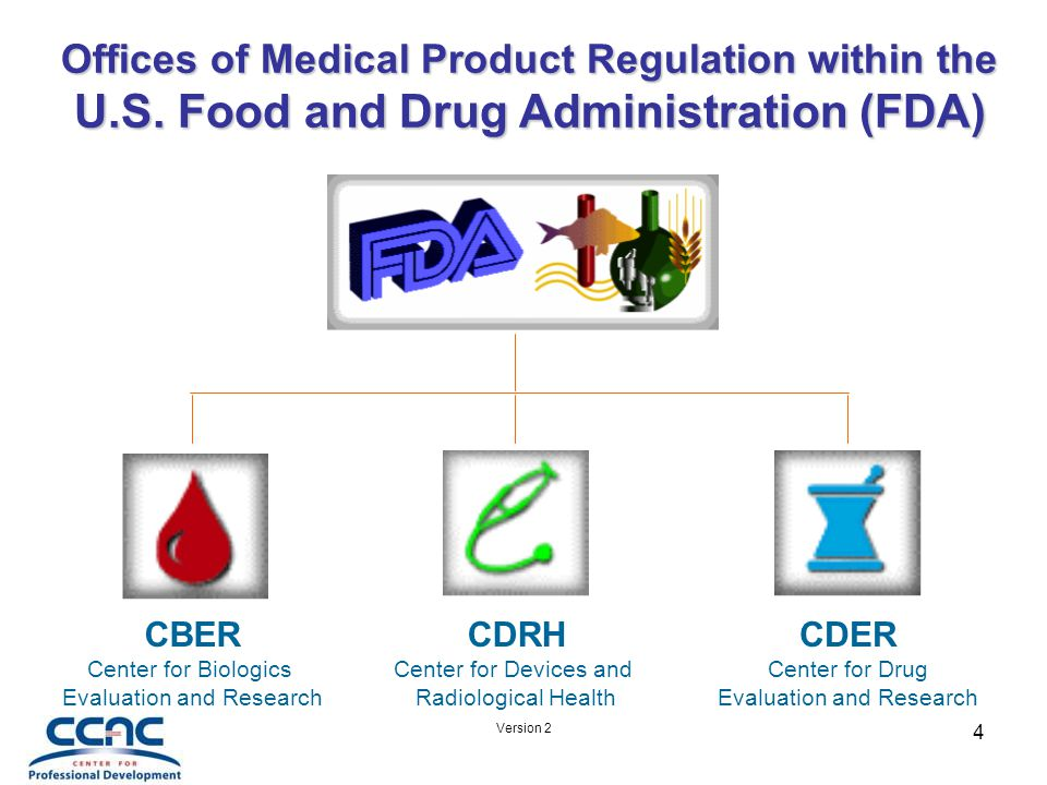 Version 2 35 Summary FDA regulations must be followed in the device manufacturing process.