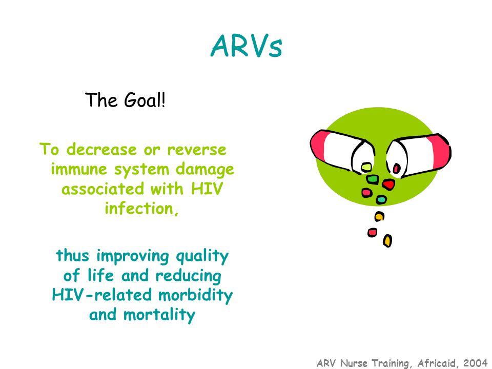 ARV Nurse Training, Africaid, 2004 ARVs The Goal.