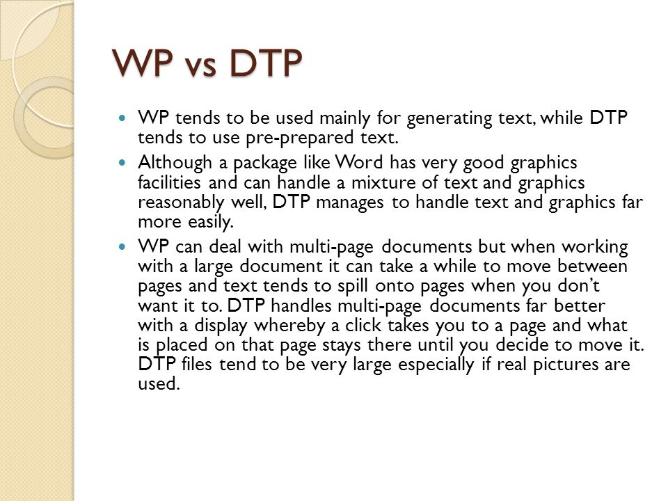Word Processing Software Data objects  characters, words  paragraphs  graphic objects.
