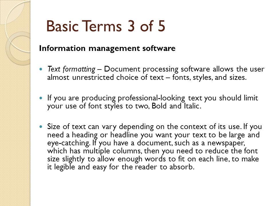 Desk Top Publishing Standard File, Edit, View, Window, Help.
