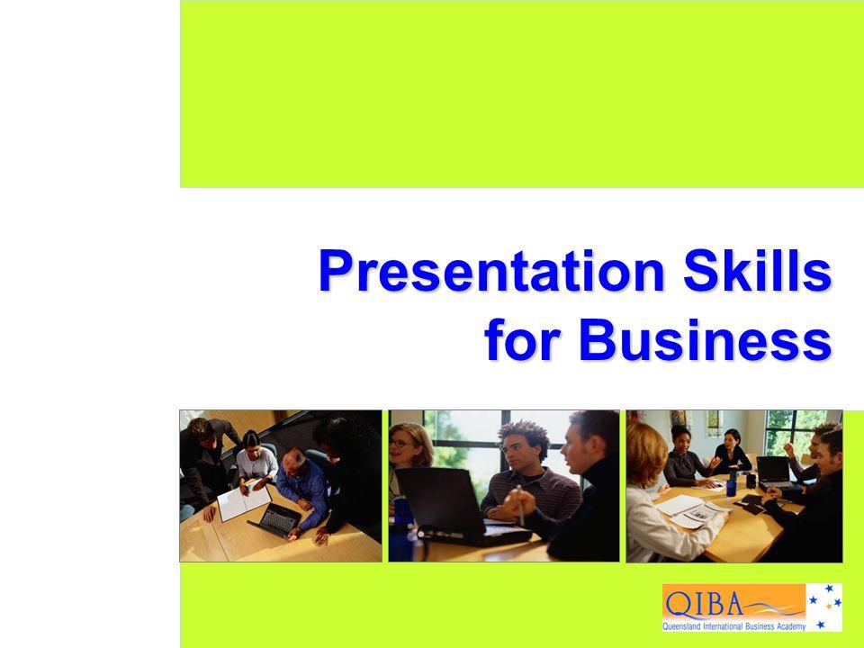 1 www.exploreHR.org Presentation Skills for Business