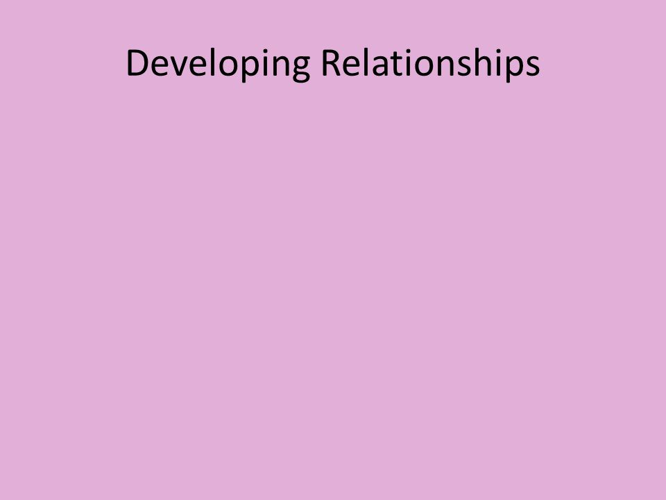 Summary of partnerships with parents Please read pages 269 and 270