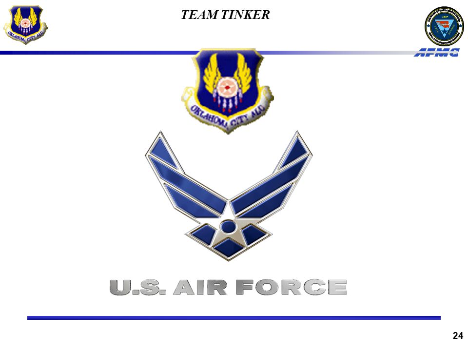 USAF BUSINESS SMALL 24 TEAM TINKER